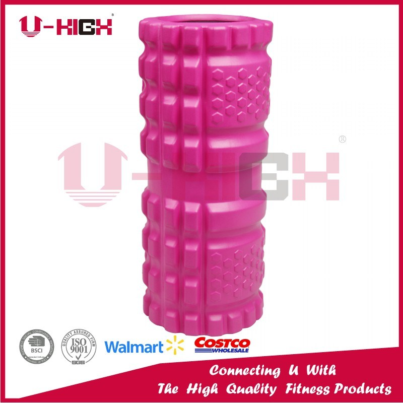 14*33cm Foam Roller Fitness Equipment Hollow EVA Injection