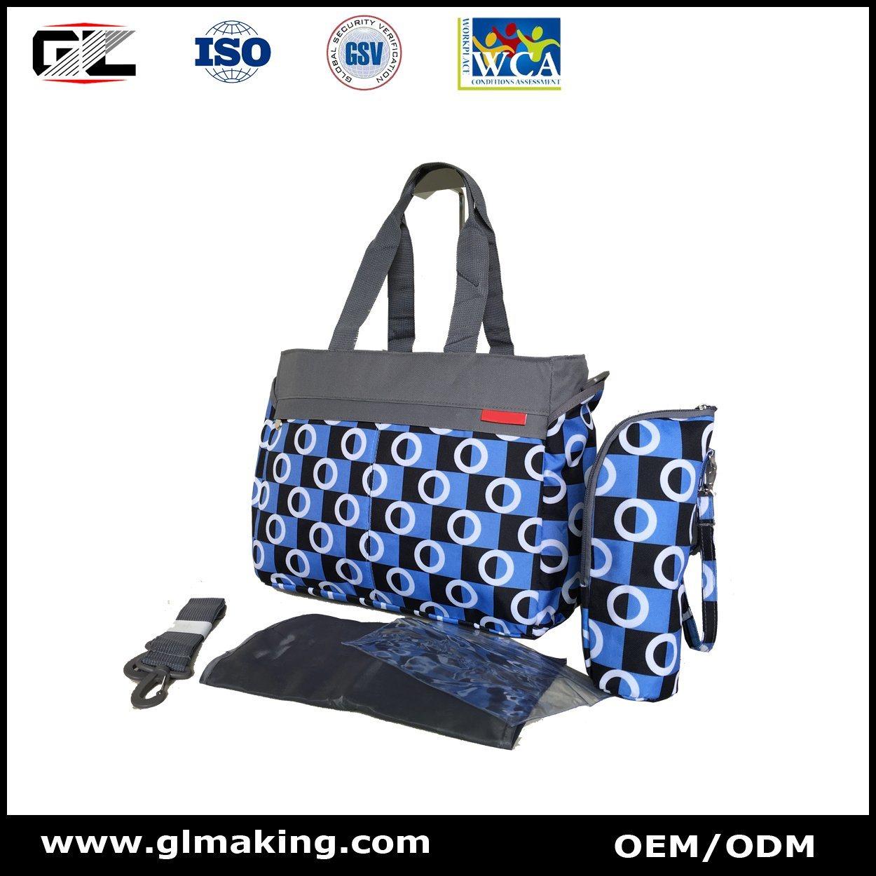 Single Shoulder Diaper Bag From OEM Mannfacturer
