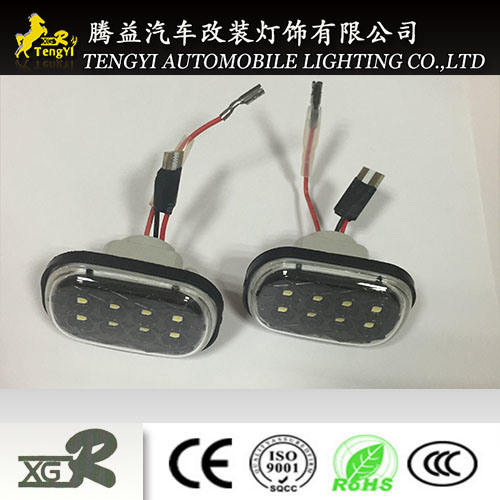 Outdoor LED 12V Auto Car Side Turn Work Lamp