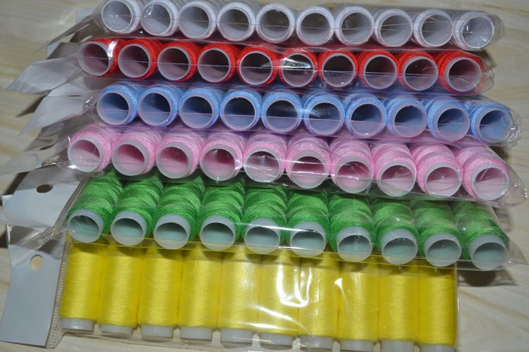 100% Spun Polyester Sewing Thread 40/2 80m