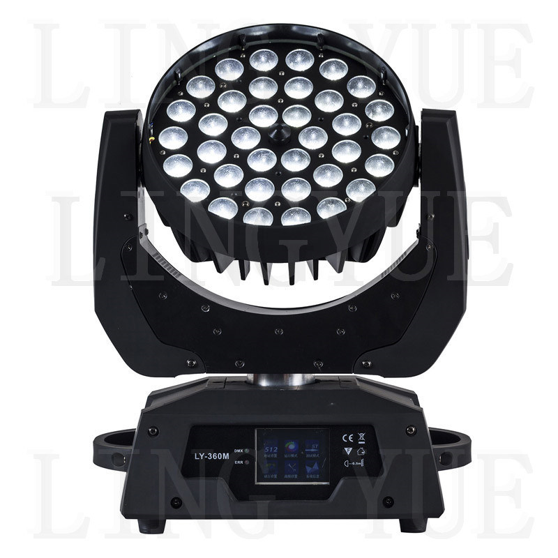 36X18W Stage Zoom Beam LED Moving Head Wash