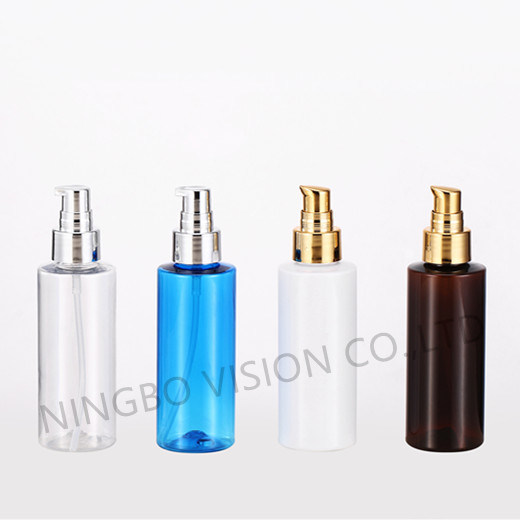 120ml Pet Cosmetic Plastic Bottle for Travel Makeup Bottle