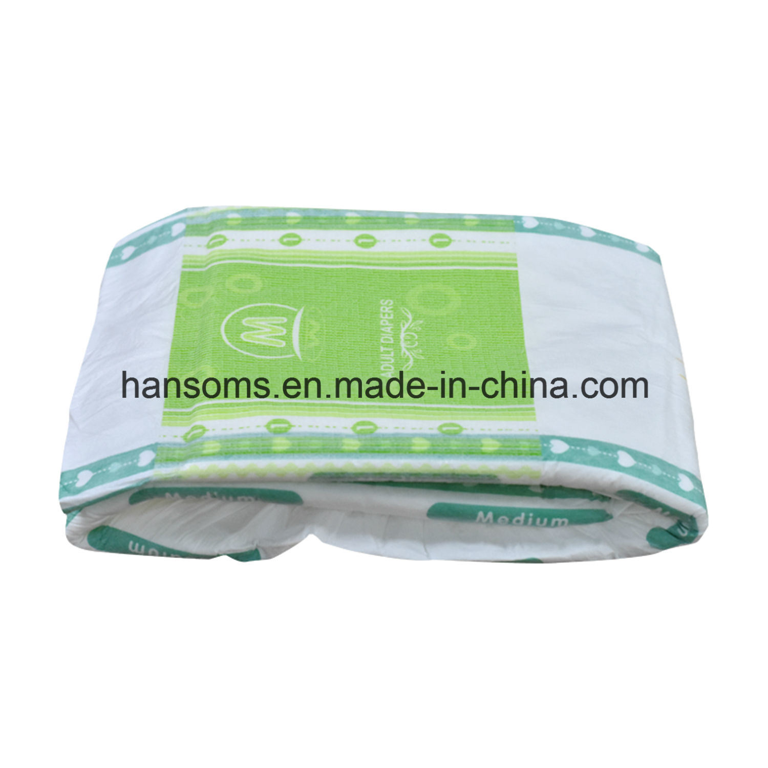 Disposable OEM Breathable Cloth-Like Back Sheet Incontinence Adult Diapers