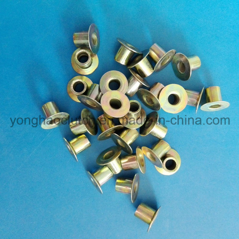 Flat Head Steel Rivet Full Tubular
