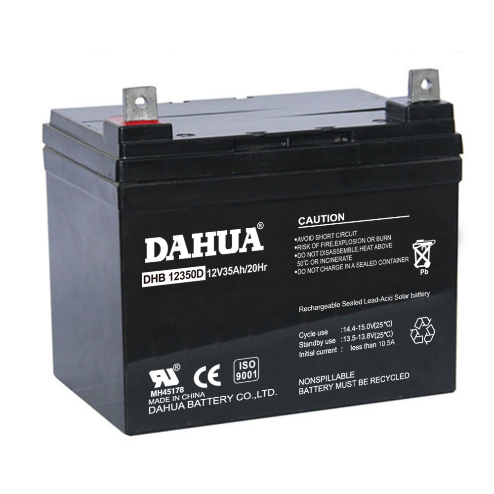 Hot Sale 12V 35ah Deep Cycle Solar Battery for Solar Systems