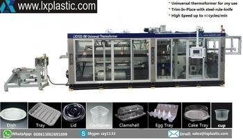 Chinese Cheap Pressure and Vacuum Thermofomring Machinery