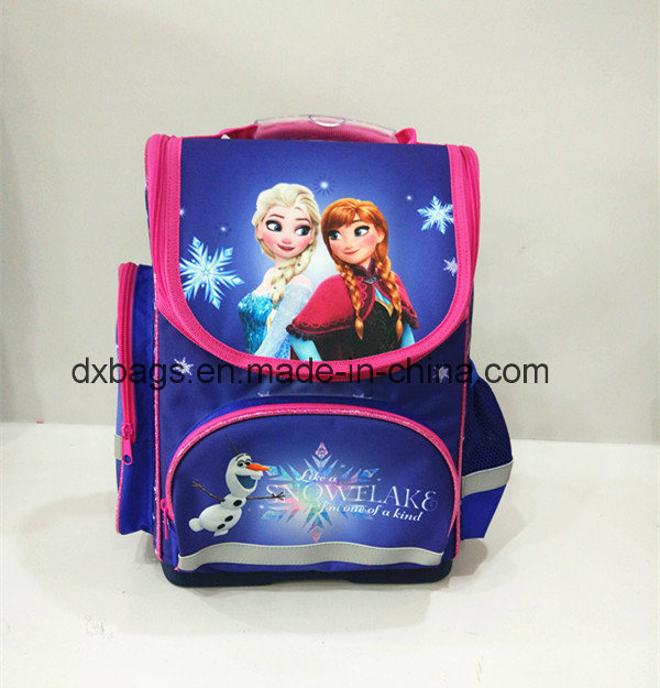 300d Polyester Frozen Child Backpack, School Bag