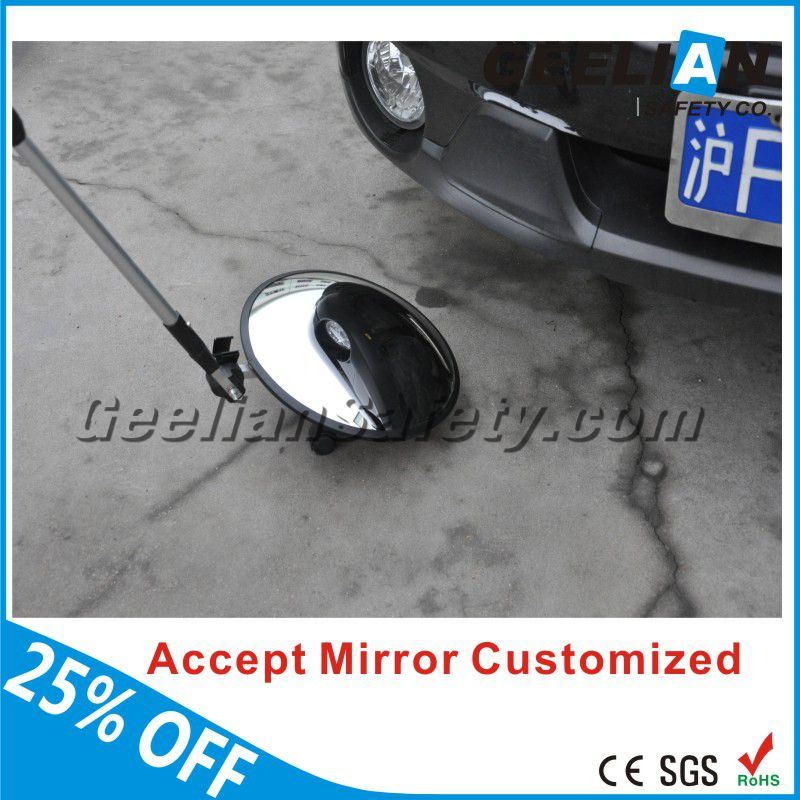 Superior Materials Security Detector Under Vehicle Inspection Mirror