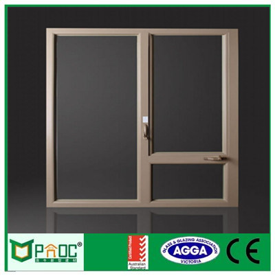Aluminum Crank Window with Wood Grain