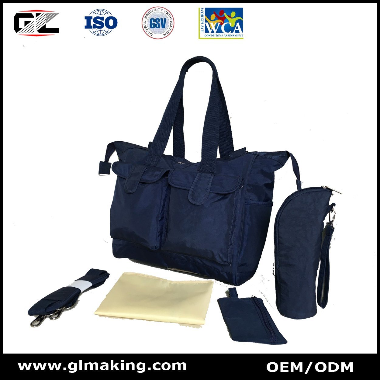 Nylon Diaper Bag From Manufacturer