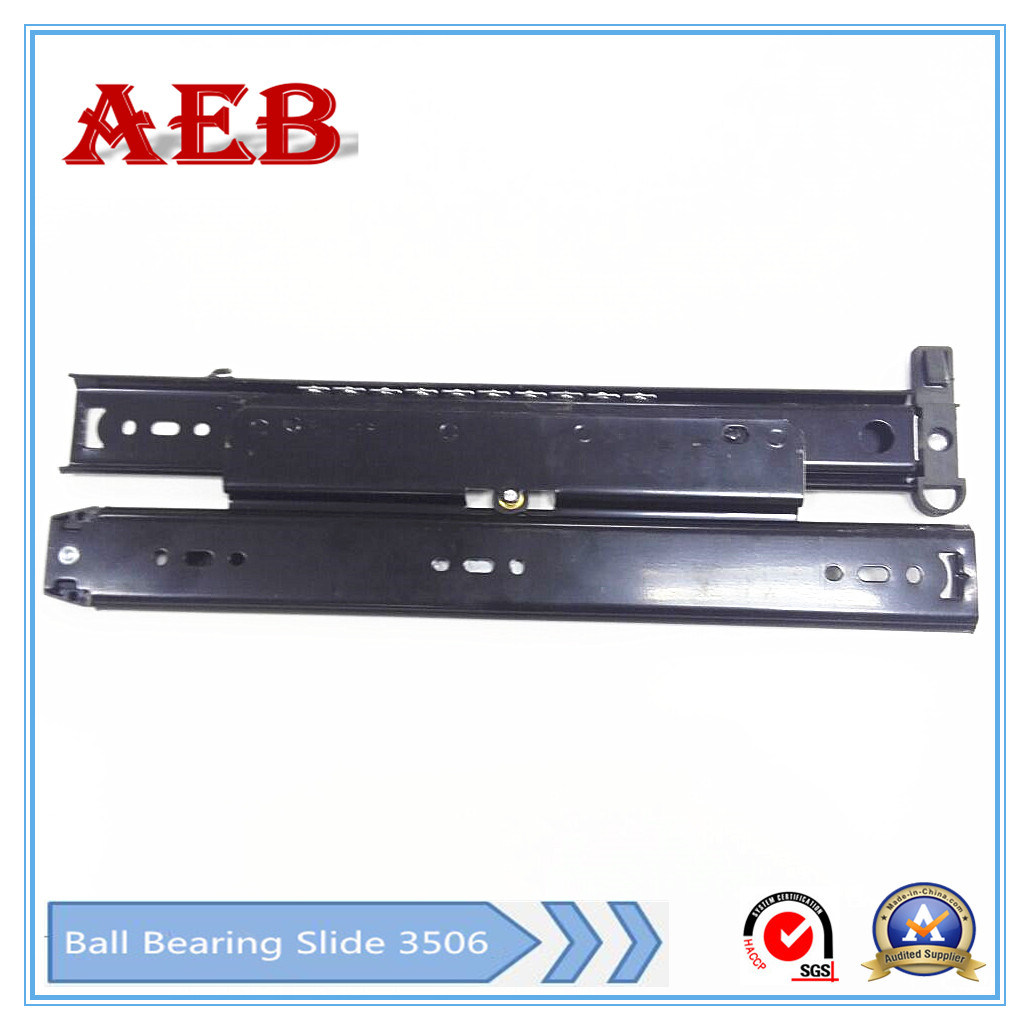 Aeb-35mm Single Extension Ball Bearing Drawer Slide with Double Row