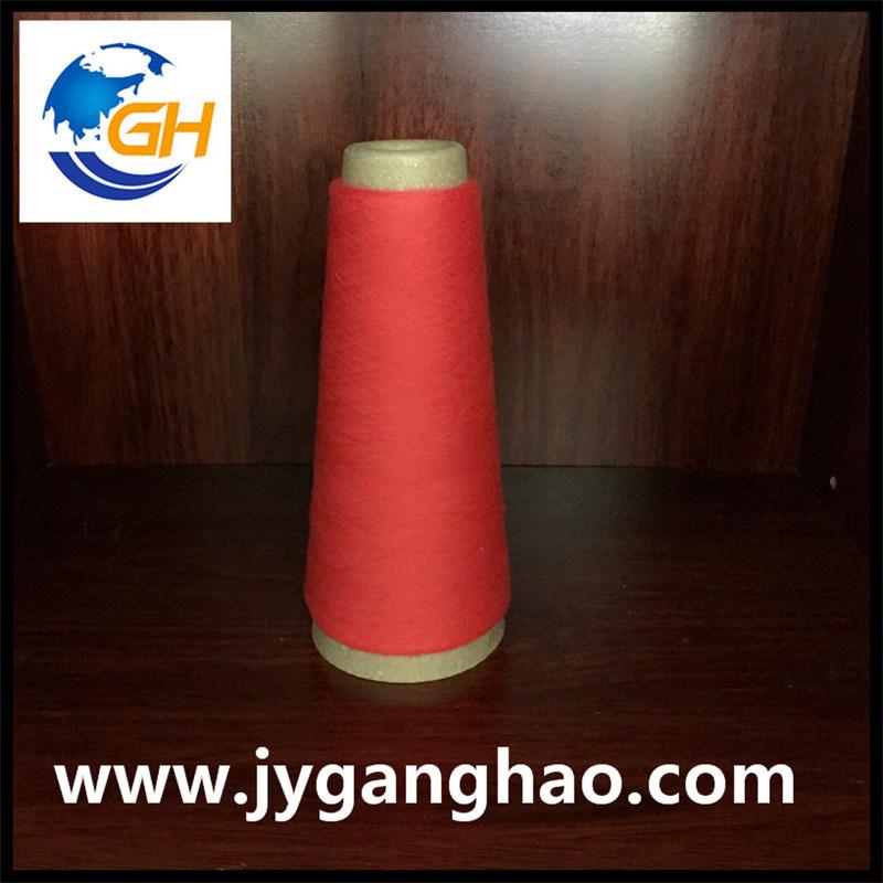 Polyester Spun Yarns in Red