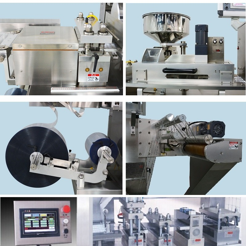 Dpp-150 Automatic Aluminum Plastic Blister Packing Machine