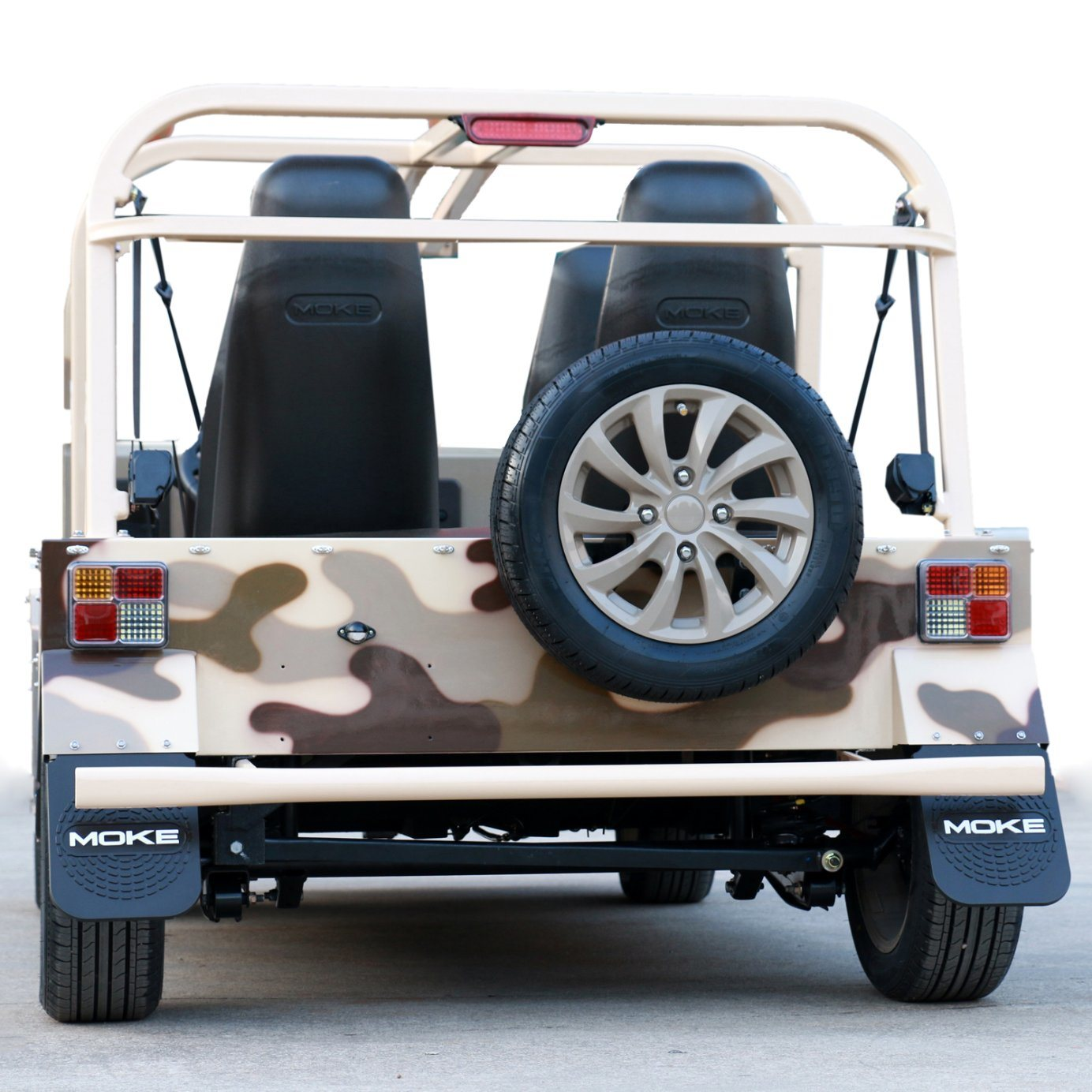 Electric Desert Camouflage Tourist Coach Sightseeing Car