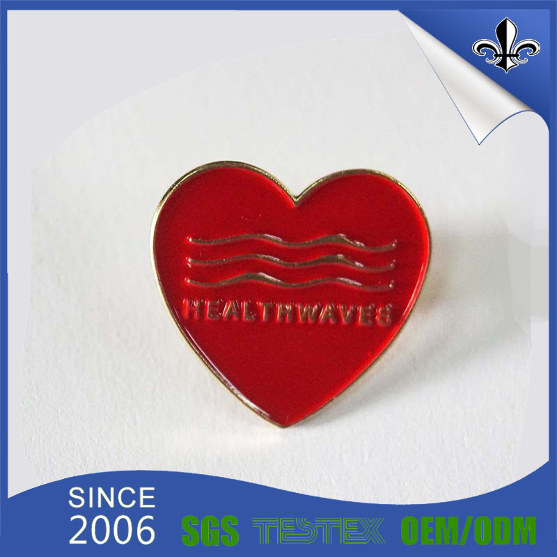 Promotional Gift Custom Metal Badge for Souvenir