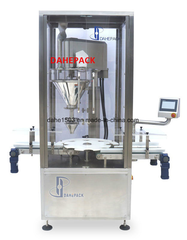 Automatic Rotary Canned Powder Filling Machine