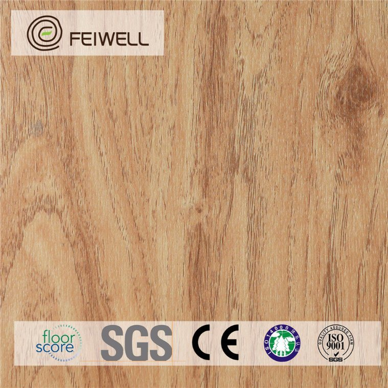 The Cheapest Household Unilin Click PVC Vinyl Floor Tile Like Wood