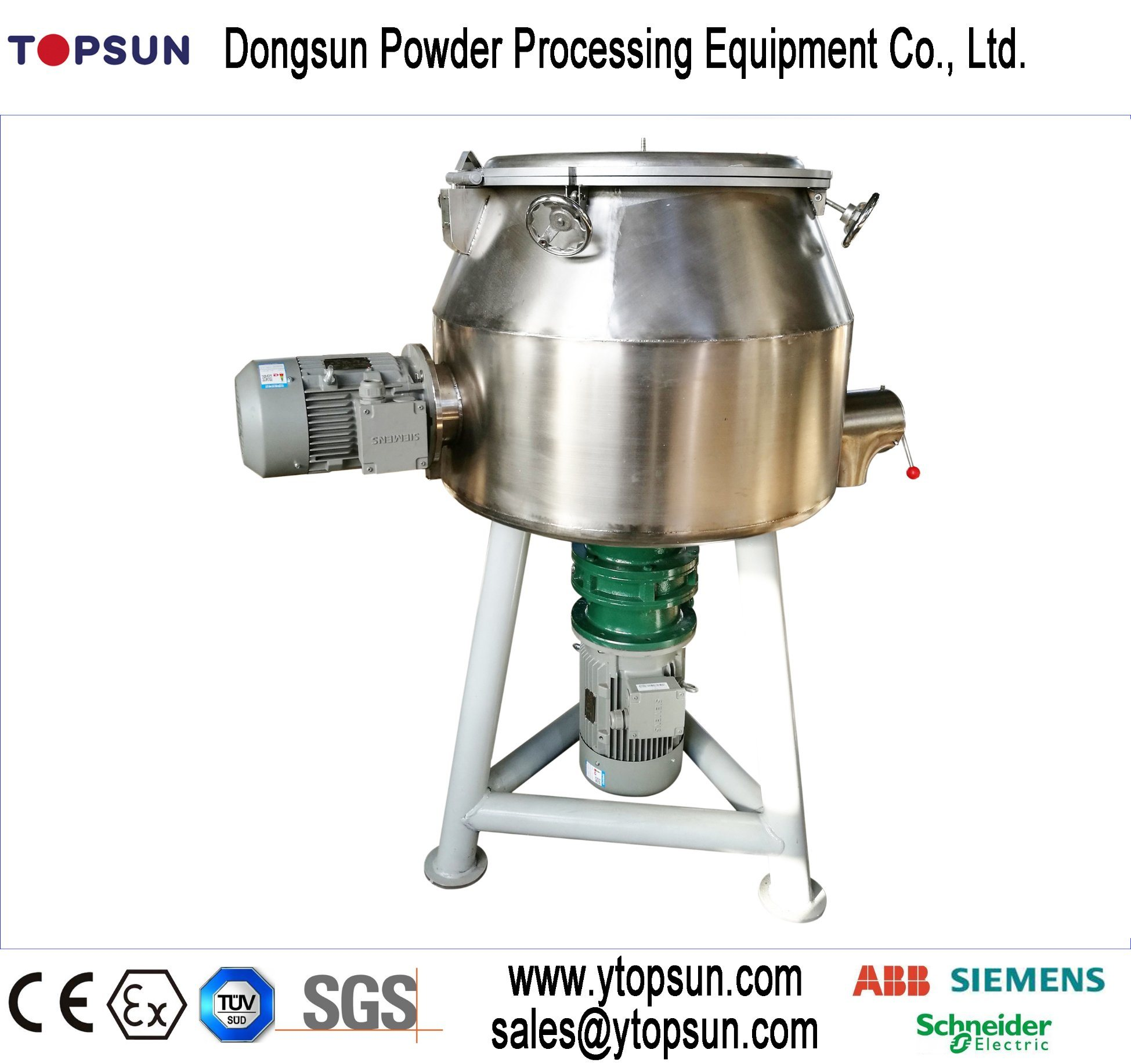 Conventional Vertical Type High Speed Pre-Mixer