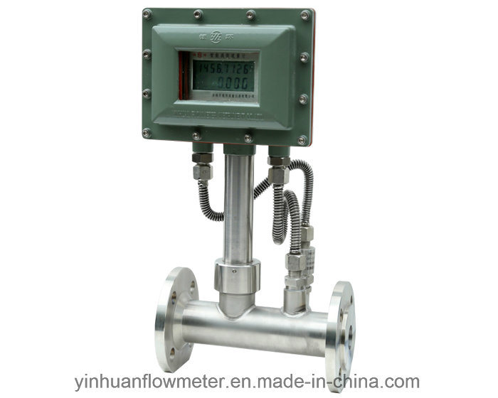 Integrated Temperature and Pressure Vortex Flowmeter