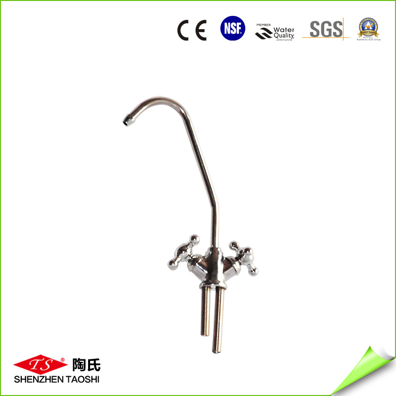Gooseneck Cold and Hot Water Lead Free Kitchen Faucet