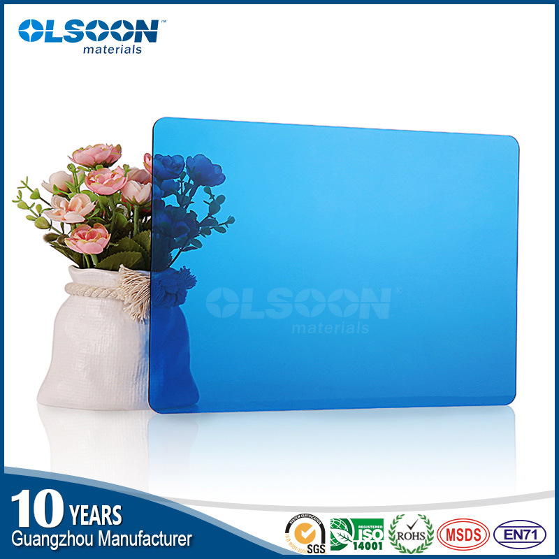 Olsoon Factory Direct Color PMMA Sheet/Acrylic Plastic Sheet/Clear Acrylic Sheet