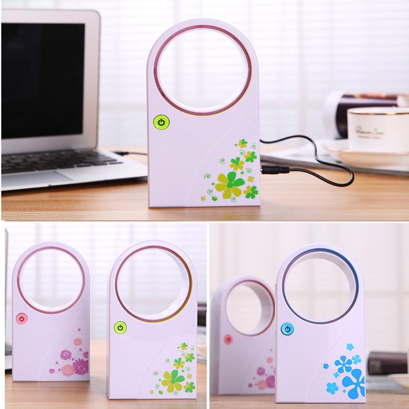 High Quality Mini USB Bladeless Fan / No Leaf Air-Condition Fan