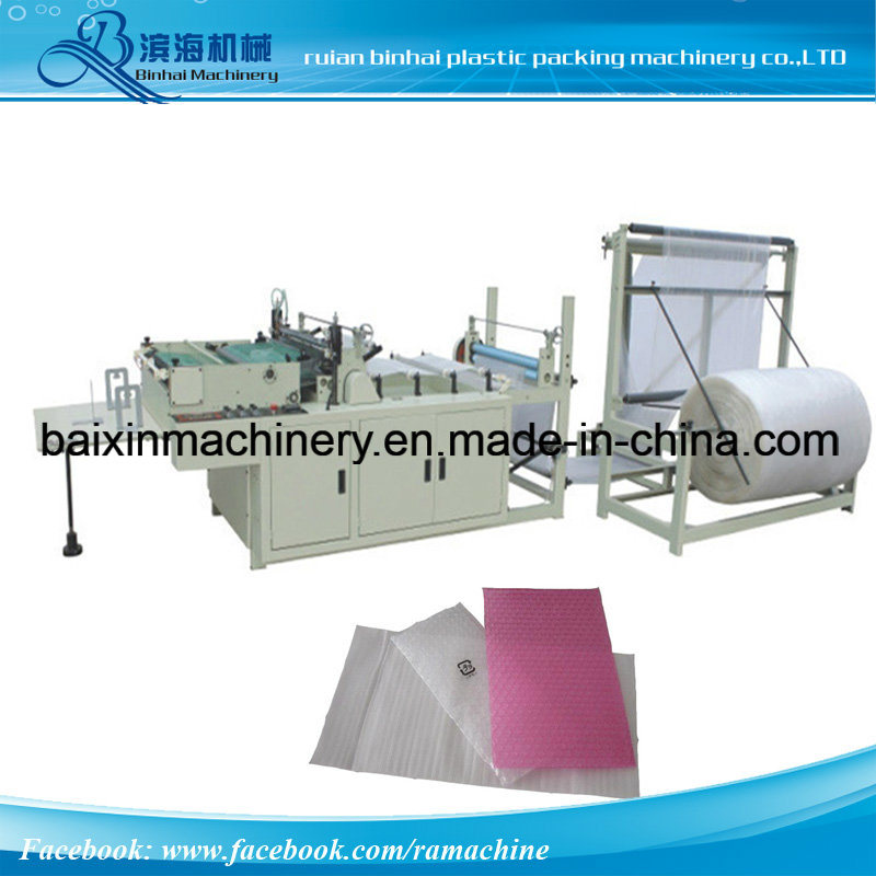 Side Sealing and Cutting Air Bubble Film Bags Making Machine
