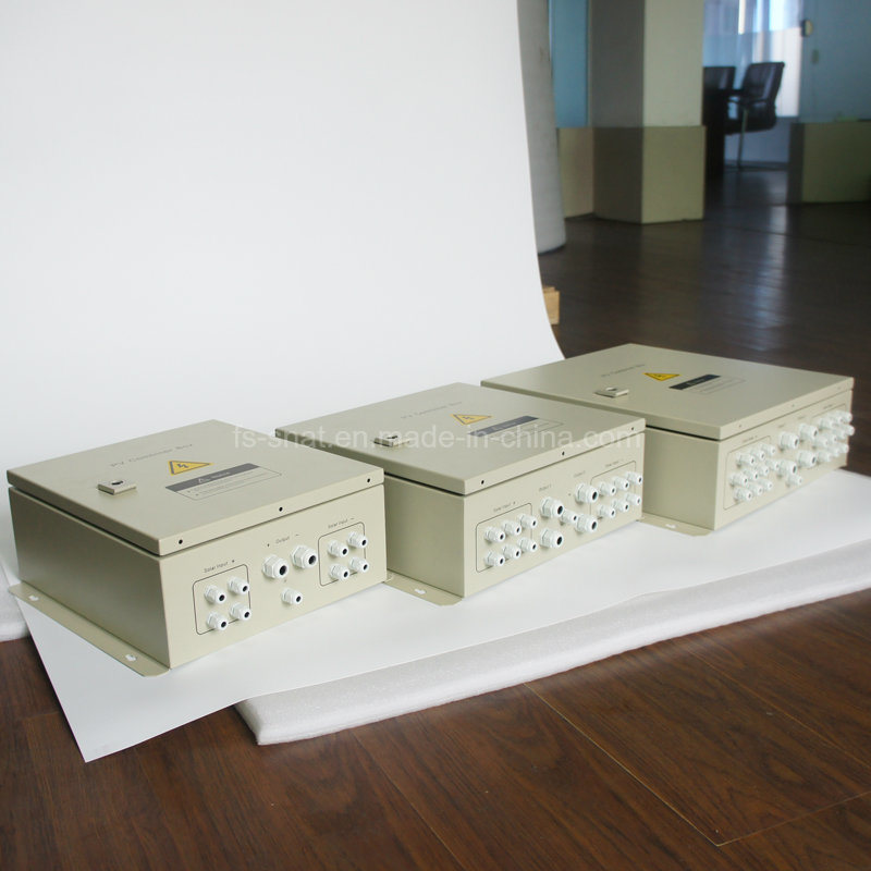 Snat PV Arrays Solar Combiner Box 4 in 1 out DC Solar Junction Box for Solar System