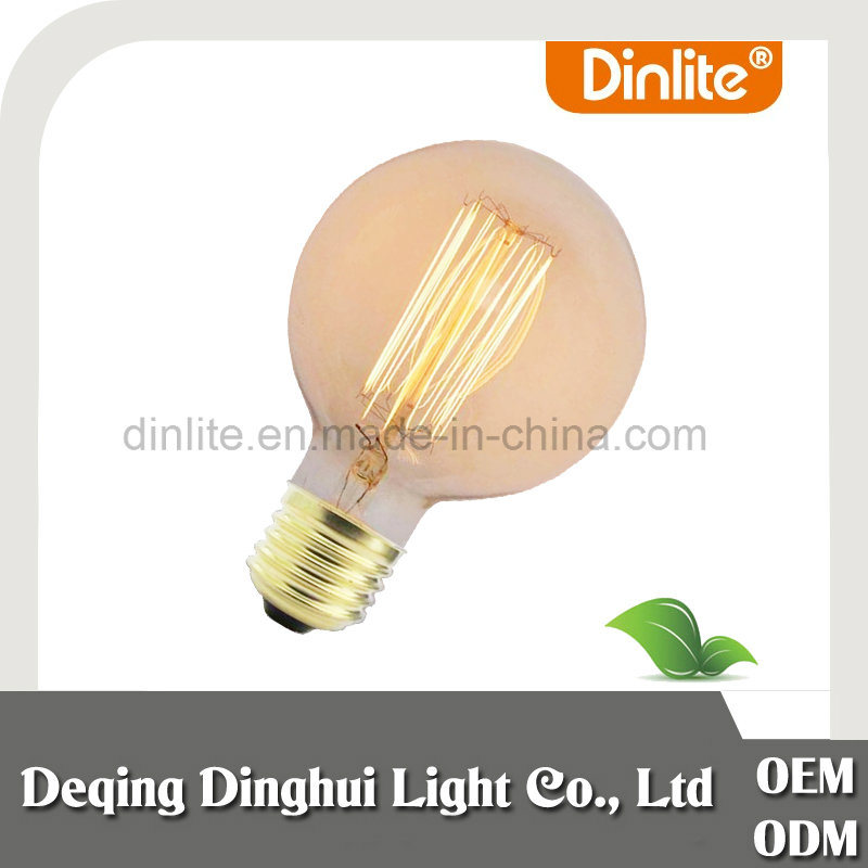 Hot selling G95 antique 13 anchors tungsten filament bulb