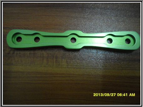 CNC Anodized Aluminum Machining Precision Auto Parts for Assemble