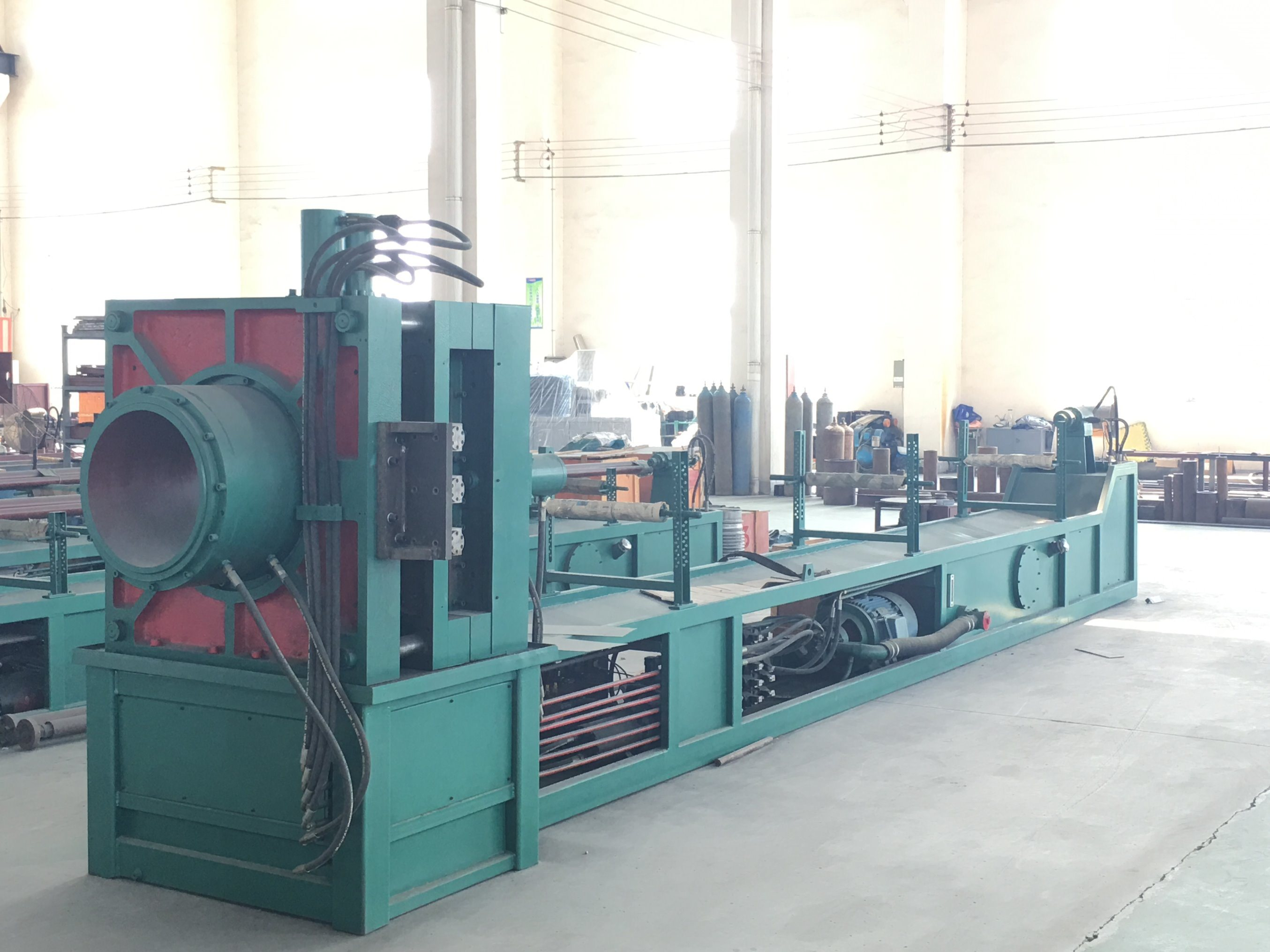 Hydraulic Flexible Corrugated Hose Making Machine