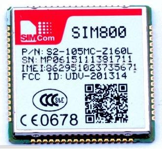 Low Power Consumption Quad-Band SIM800 Simcom GSM GPRS Module Compatible with SIM900