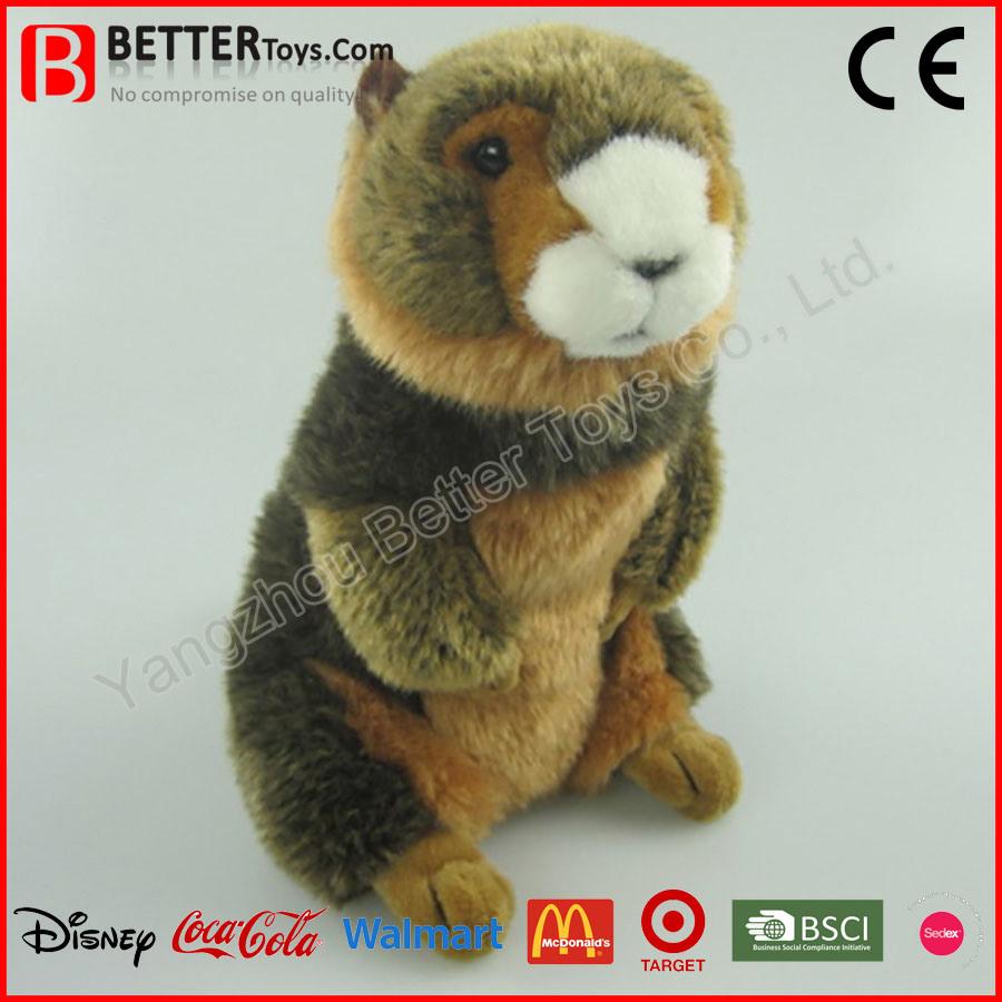 En71 Realistic Stuffed Plush Toy Marmot