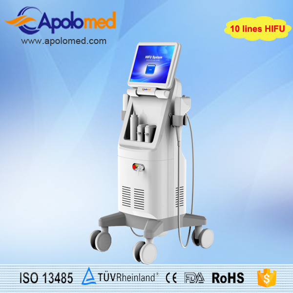Effective High Intensity Focused Ultrasound Hifu Machine with Ce Approved