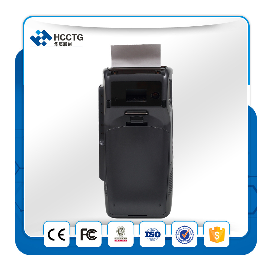 Portable Android PCI EMV EDC POS Terminal with Printer (S1000)