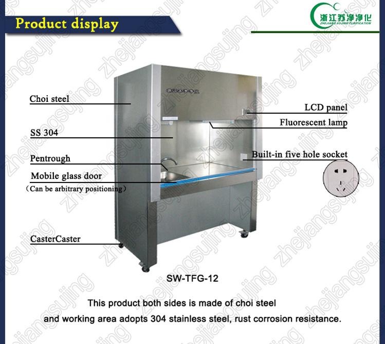 All Steel PVC Tube Laboratory Fume Hood