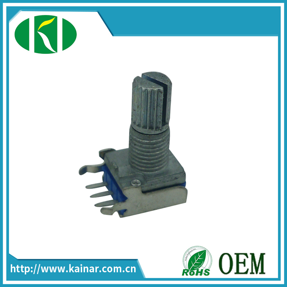 9mm Momo Carbon Rotary Potentiometer with Bracket