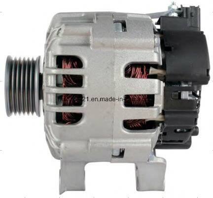 Alternator for 6PV Citroen C2, C3, C4, Peugeot 307, Dan1336, 9656956280, 9665577480, A005ta6292, A005ta6292c, A005ta6292f, 12V 90A