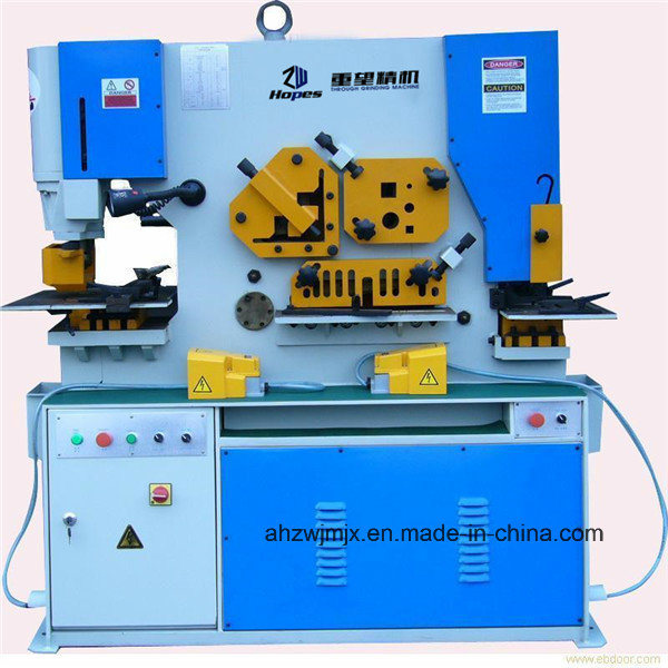 Q35y Series Hydraulic Combined Punching & Shearing Machine
