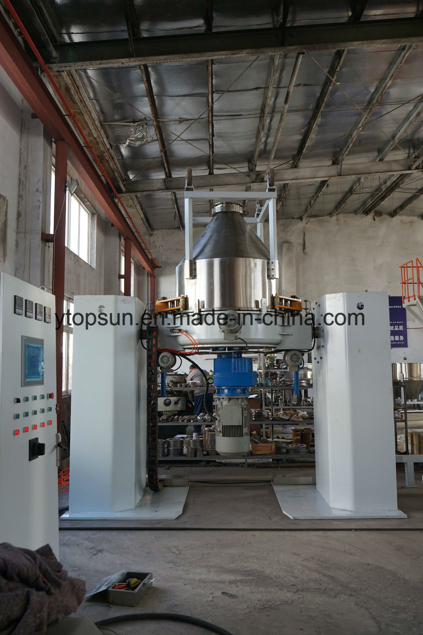 New Style Container Mixer for Powder Coating