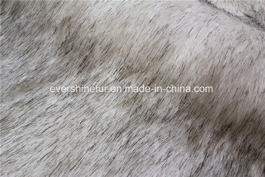 High-Low Pile Fur for Garment/Hat/Shoe/Carpet
