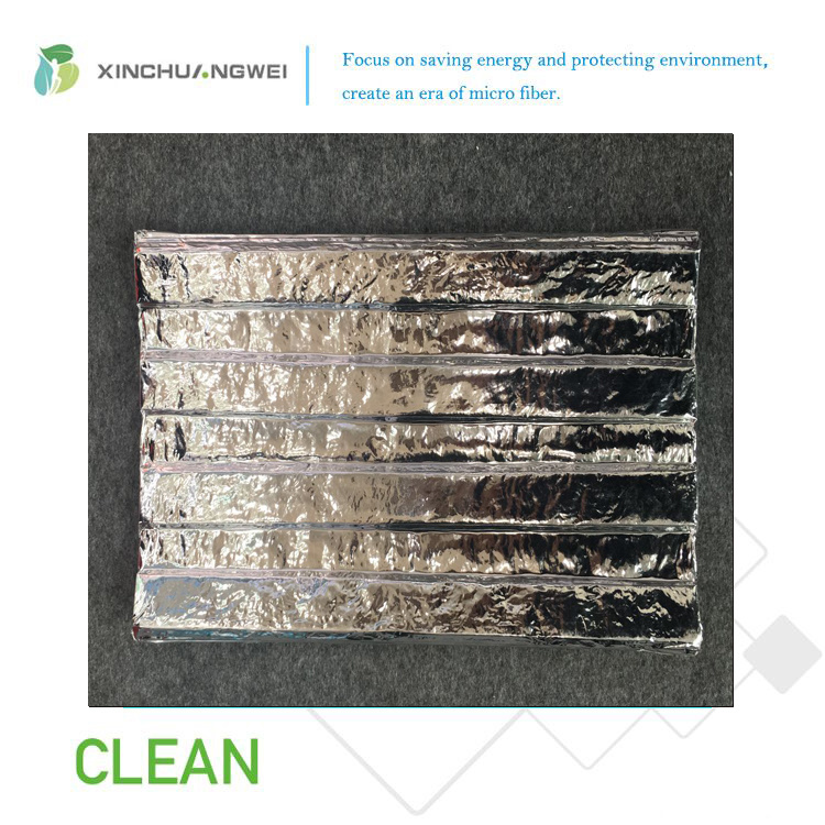 Aluminum Foil Fiberglass Vacuum Insulation Panel for Building Project