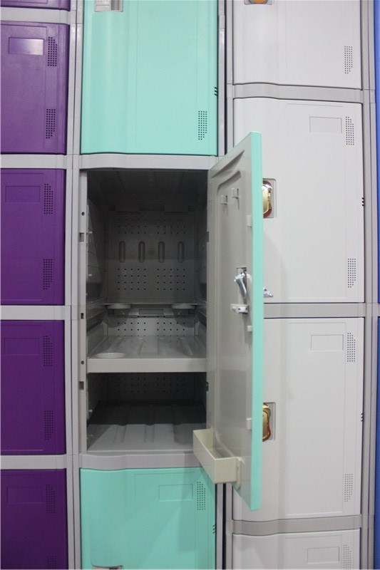 Waterproof Locker for Bathroom with 3 Doors