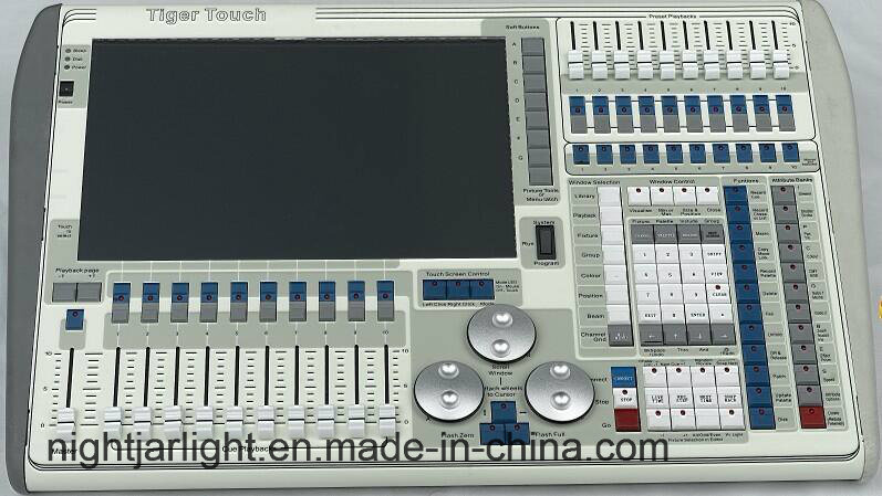 DMX Moving Head Stage Lighting Console Avolites Tiger Touch Controller