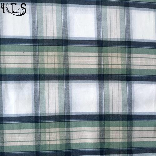 Cotton Poplin Woven Yarn Dyed Fabric for Garments Shirts/Dress Rls40-1po