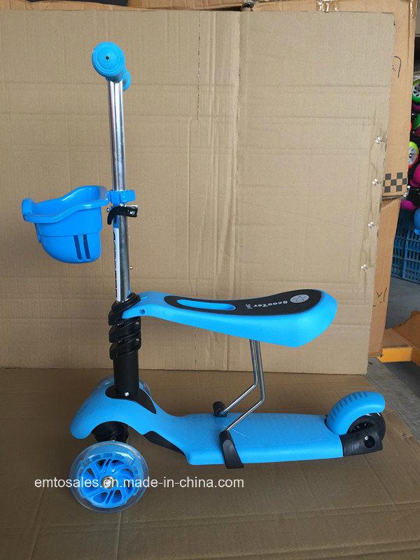 3 Wheel Children Mirco Scooter with Adjustable Seat (et-mc001)