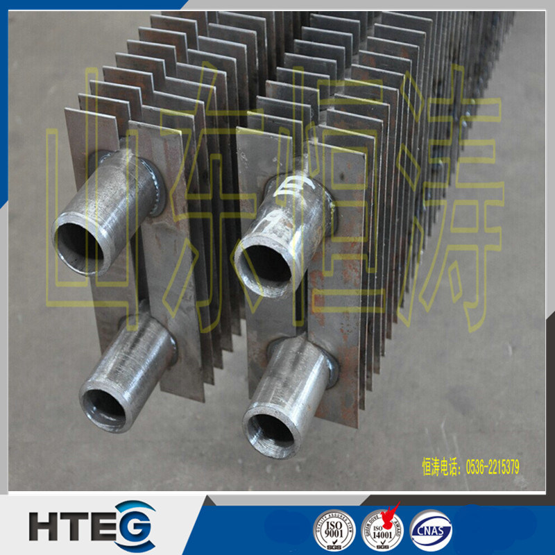Compact Structure Heat Exchanger H Finned Tube Economizer for CFB Boiler