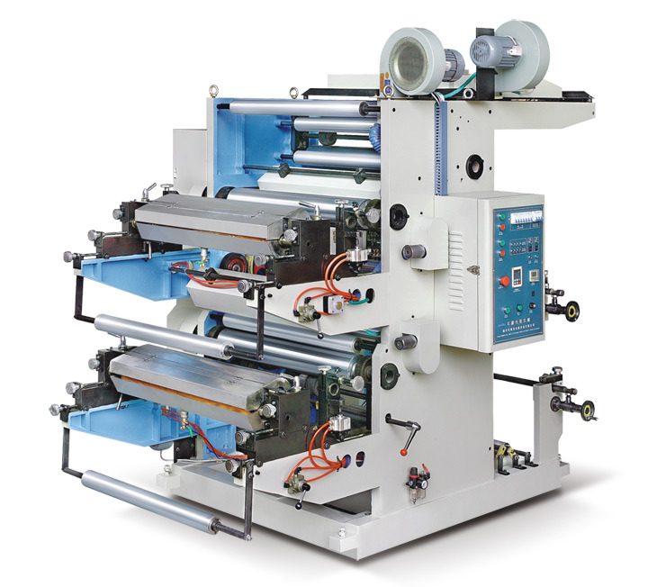 Double Color Flexography Printing Machine
