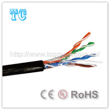 Ce Certificate Cat 5e UTP Outdoor Network Cable