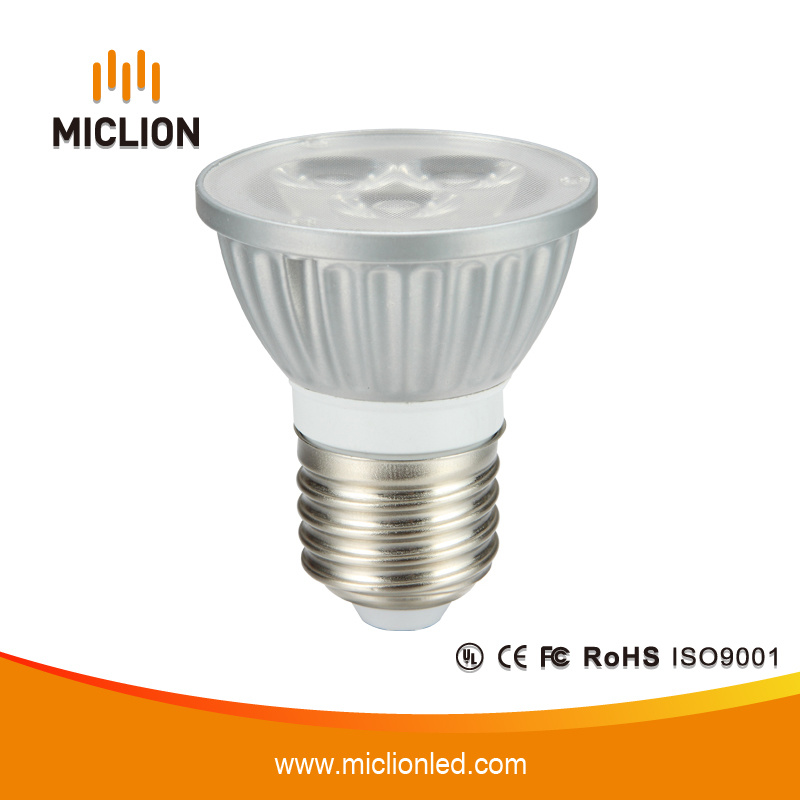 4.5W E26 Silver LED Spotlight with CE